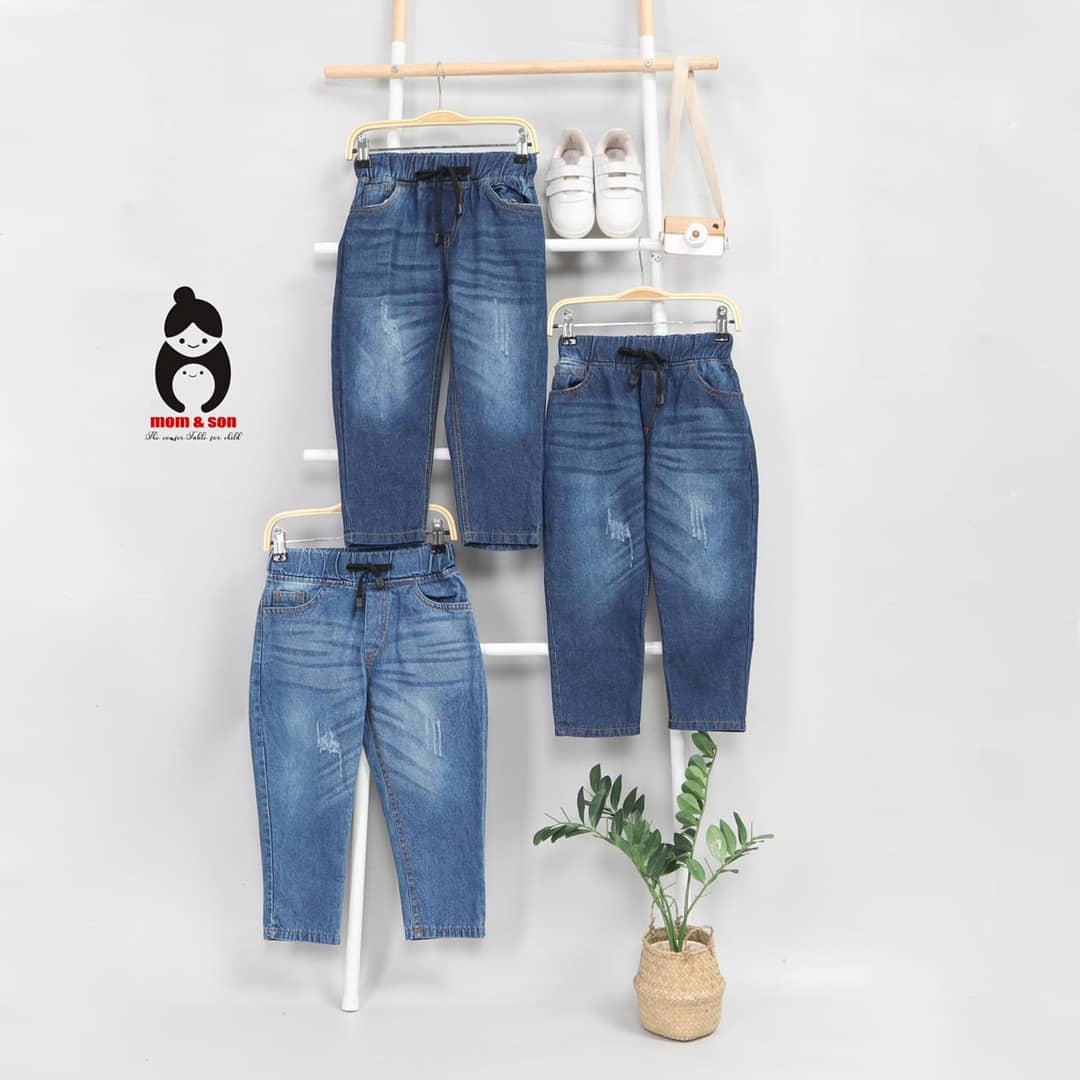 Jeans mom&son 2,4